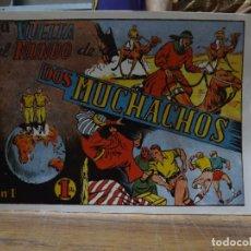 Livros de Banda Desenhada: LA VUELTA AL MUNDO DE DOS MUCHACHOS - 24 NUMEROS COMPLETA REEDICION. Lote 281950718
