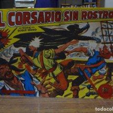 Livros de Banda Desenhada: EL CORSARIO SIN ROSTRO - COLECCION COMPLETA 42 NUMEROS REEDICION. Lote 284319248
