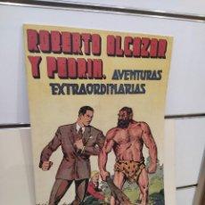 BDs: ALMANAQUE ROBERTO ALCAZAR Y PEDRIN AÑO 1946 - REEDICION. Lote 286806783