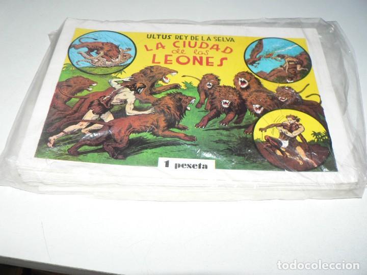 COLECCION DE ULTUS EL REY DE LA SELVA (Tebeos y Comics - Tebeos Reediciones)