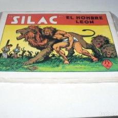 Tebeos: COLECCION DE SILAC EL HOMBRE LEON. Lote 288046428
