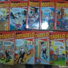 Tebeos: SUPER MORTADELO DEL HUMOR -- 10 PUBLICACIONES. Lote 288079343