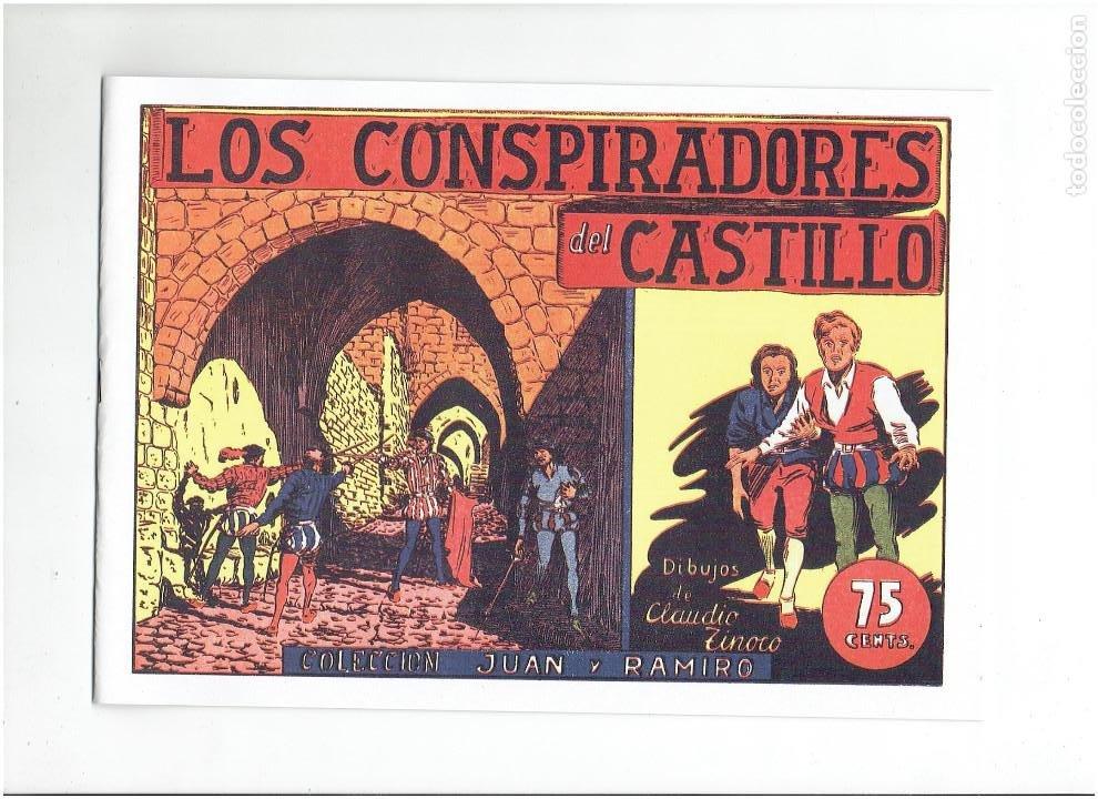 Tebeos: * COLECCION JUAN Y RAMIRO * SELECCION AVENTURERA * COMPLETA 3 Nº * REEDICION IMPECABLE * - Foto 2 - 289900128