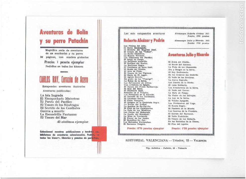 Tebeos: * COLECCION JUAN Y RAMIRO * SELECCION AVENTURERA * COMPLETA 3 Nº * REEDICION IMPECABLE * - Foto 6 - 289900128