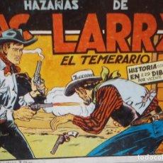 Tebeos: HAZAÑAS DE MAC LARRY - COMPLETA- REEDICION - VICENTE ROSO. Lote 289900518
