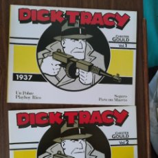 Tebeos: DICK TRACY 1937 (VOL. 1 Y 2) - CHESTER GOULD. Lote 293592273
