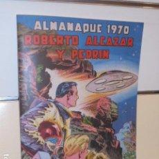 Giornalini: ALMANAQUE ROBERTO ALCAZAR Y PEDRIN AÑO 1970 REEDICION - 32 PAGINAS A COLOR.. Lote 293804243