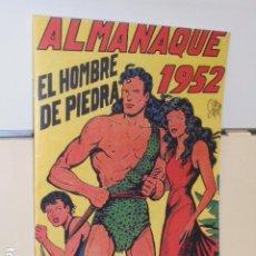 Tebeos: ALMANAQUE PURK EL HOMBRE DE PIEDRA AÑO 1952 REEDICION. Lote 293810128