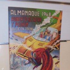 Tebeos: ALMANAQUE ROBERTO ALCAZAR Y PEDRIN AÑO 1968 REEDICION - 32 PAGINAS A BICOLOR.. Lote 294165178