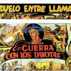 Tebeos: * TOM CLARK Nº 1 Y 4 * FASCIMIL DE EDITORIAL GRAFIDEA 1945 *. Lote 295828443