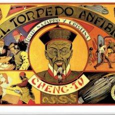 Tebeos: * NAVARRO Y CRISTINA Nº 3 * EL TORPEDO ANFIBIO. 21X32CM * FASCIMIL DE EDITORIAL GRAFIDEA 1944 *. Lote 295830523