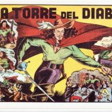 Tebeos: * LA TORRE DEL DIABLO * HISPANO AMERICANA 1943 * FASCIMIL DE IRANZO *. Lote 295832743