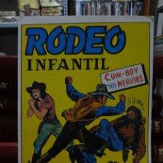 Tebeos: RODEO INFANTIL - COLECCION COMPLETA 14 NUMEROS. Lote 295880633