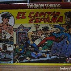 Tebeos: EL CAPITAN ESPAÑA - COLECCION COMPLETA 32 NUMEROS. Lote 295880768
