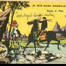 Tebeos: WINCHESTER JIM Nº23-EL JEFE MANO AMARILLA,EXCLUSIVAS GRAFICAS RICART,BARCELONA. Lote 17082011
