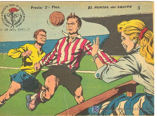 AVENTURAS DEPORTIVAS Nº 3 ( RICART ) (Tebeos y Comics - Ricart - Aventuras Deportivas)