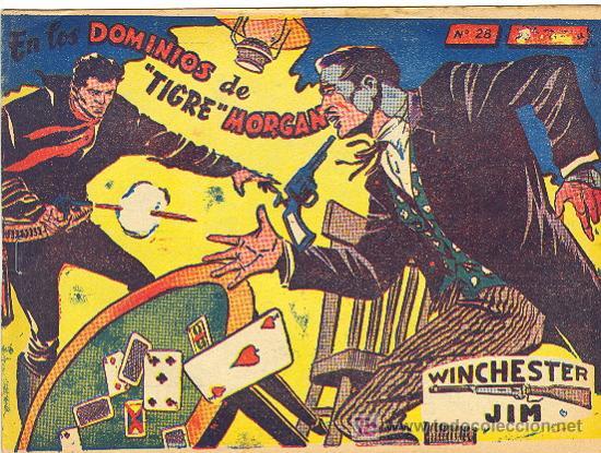 WINCHESTER JIM RICART Nº 28 CON VIÑETAS ATRAS (Tebeos y Comics - Ricart - Otros)