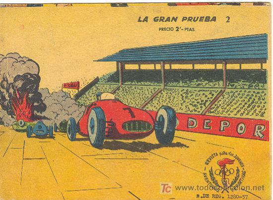 AVENTURAS DEPORTIVAS Nº 2 ( RICART ) (Tebeos y Comics - Ricart - Aventuras Deportivas)
