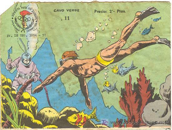 AVENTURAS DEPORTIVAS 2 PESETAS Nº 11 ( RICART ) (Tebeos y Comics - Ricart - Aventuras Deportivas)