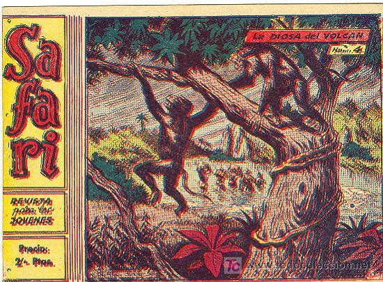 SAFARI (2ª) (RICART) ..... Nº 4 (Tebeos y Comics - Ricart - Safari)