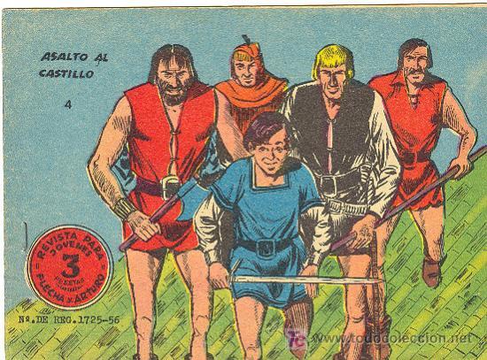 FLECHA Y ARTURO Nº 4 DE 3 PTS (Tebeos y Comics - Ricart - Flecha y Arturo)