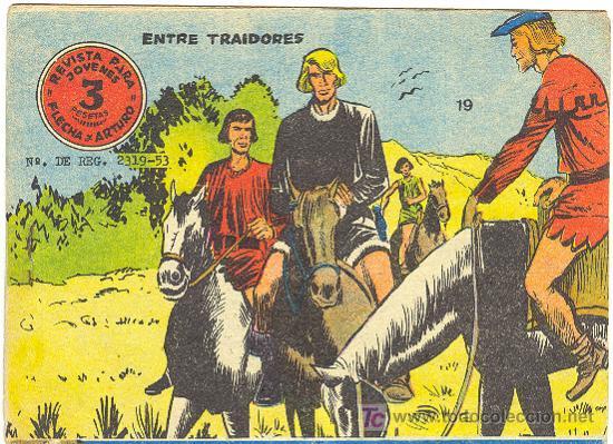 FLECHA Y ARTURO Nº 19 (Tebeos y Comics - Ricart - Flecha y Arturo)