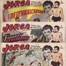 Tebeos: Nº 1, 11 Y 14 DE JORGA, DE RICART. Lote 95154258