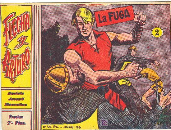 FLECHA Y ARTURO Nº 2 ORIGINAL (Tebeos y Comics - Ricart - Flecha y Arturo)
