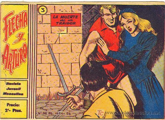 FLECHA Y ARTURO Nº 3 ORIGINAL (Tebeos y Comics - Ricart - Flecha y Arturo)
