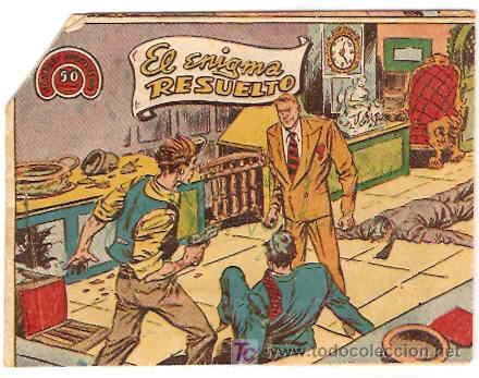 HOMBRES AVENTUREROS Nº 16 ORIGINAL - RICART 1964- LEER (Tebeos y Comics - Ricart - Otros)