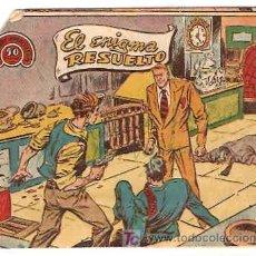 Tebeos: HOMBRES AVENTUREROS Nº 16 ORIGINAL - RICART 1964- LEER. Lote 14650249