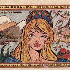 Livros de Banda Desenhada: CUENTO: EL HADA DE LA LAGUNA, COLECCION ROSA. CUENTOS PARA NIÑAS. GRAFICAS RICART AÑO 1959. Lote 5842860