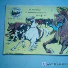 Tebeos: WINCHESTER JIM Nº 9 LA ESTAMPIDA /LA GARGANTA DE LA MUERTE / RICART 1965. Lote 9351518