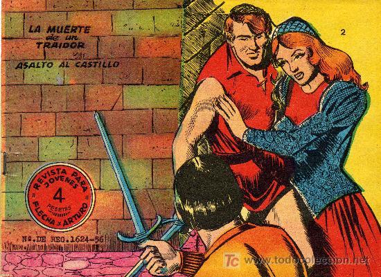 FLECHA Y ARTURO EXTRA Nº 2 (GRÁFICAS RICART) . DIBUJOS DE BADIA (Tebeos y Comics - Ricart - Flecha y Arturo)