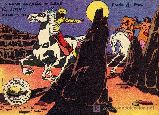 WINCHERTER JIM Nº 11 (EDITORIAL RICART) DIBUJOS DE JULIO BOSCH. NÚMERO EXTRA (Tebeos y Comics - Ricart - Otros)
