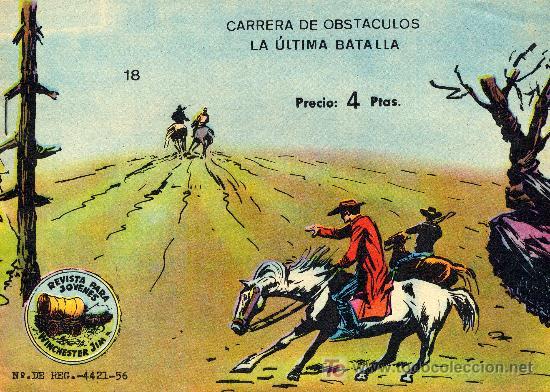 WINCHERTER JIM Nº 18 (EDITORIAL RICART) DIBUJOS DE JULIO BOSCH. NÚMERO EXTRA (Tebeos y Comics - Ricart - Otros)