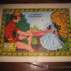 Tebeos: LA PRINCESA CAPRICHOSA Nº 9 COLECCION GOLONDRINA . Lote 6615654