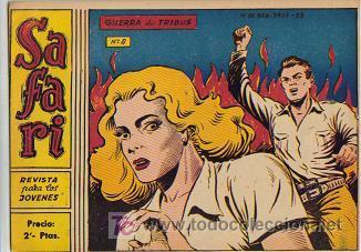 SAFARI (RICART) ORIGINAL 1963-1965 LOTE (Tebeos y Comics - Ricart - Safari)