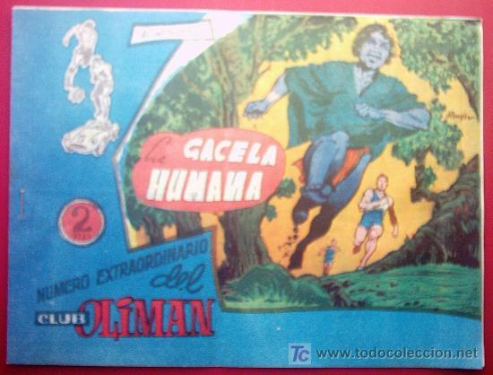 AS DEL DEPORTE - LA GACELA HUMANA Nº 210 (Tebeos y Comics - Ricart - Gacela)