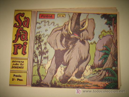 SAFARI Nº16 FURIA EDIT RICART (Tebeos y Comics - Ricart - Safari)