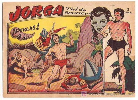 JORGA Nº 5 ---- RICART --- ORIGINAL 1963- LEER (Tebeos y Comics - Ricart - Jorga)