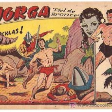 Tebeos: JORGA Nº 5 ---- RICART --- ORIGINAL 1963. Lote 13532972