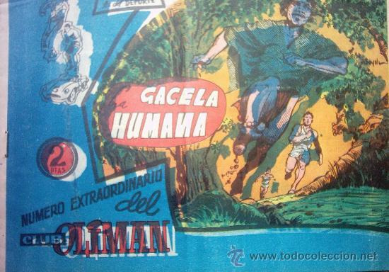 AS DEL DEPORTE Nº 210 - LA GACELA HUMANA (Tebeos y Comics - Ricart - Gacela)