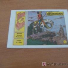 Tebeos: FICHA ( NO ES UN COMIC ) FLECHA Y ARTURO . PORTADA DEL Nº 1. Lote 9058050