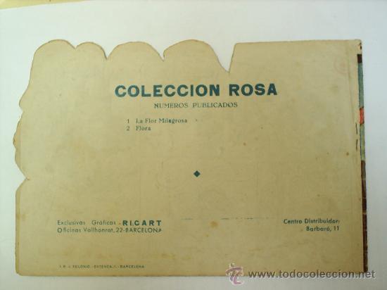 Tebeos: COLECCION ROSA-N.2 -GRAFICAS RICART - Foto 2 - 25618378