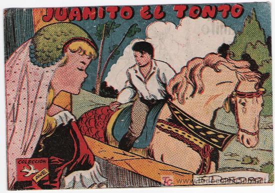 AVE. RICART. JUANITO EL TONTO. CONTRAPORTADA PUBLICIDAD CHOCOLATES EL MAGO (Tebeos y Comics - Ricart - Ave)