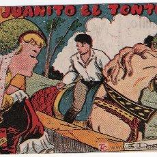 Tebeos - Ave. Ricart. Juanito el tonto. Contraportada publicidad Chocolates El Mago - 17423434