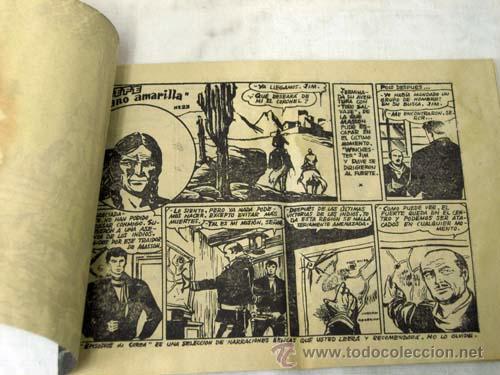 Tebeos: Winchester Jim nº 23 El jefe mano amarilla Ed Gráficas Ricart 1956 - Foto 2 - 9972957