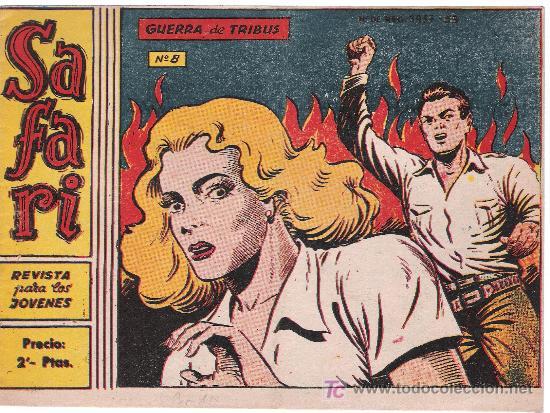 SAFARI. Nº 8 (Tebeos y Comics - Ricart - Safari)