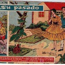 Tebeos: SENTIMENTAL. RICART 1958. SIN NÚMERO. 20 PÁGINAS. 'SU PASADO'.. Lote 23154607